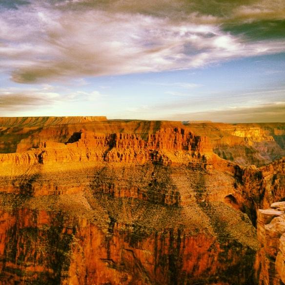 El Gran Cañón es uno de los parques naturales más espectaculares de Estados Unidos.  Foto: María A. Mejía